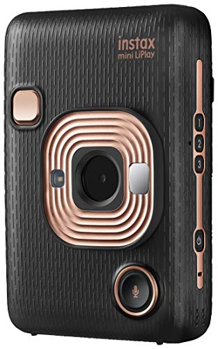 instax mini LiPlay Sofortbildkamera, Elegant Black