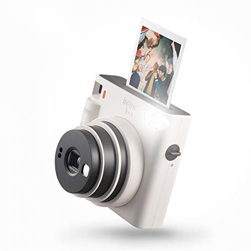 instax SQUARE SQ1 Instant Camera Calk White