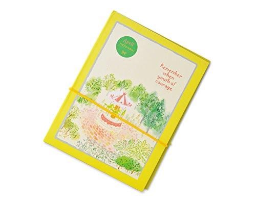 Bunte Fuji DIY Foto Album Fotoalbum Fotoalben Pappe Fotobuch Photoalbum Fotohüllen Buchalbum Blanko Gästebuch für Fujifilm Instax Mini Filme - Gelb