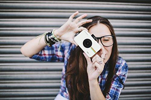 Polaroid-Schnappschuss-Sofortdruck-Digitalkamera mit LCD-Display (Weiß) mit Zink Zero Ink Drucktechnologie