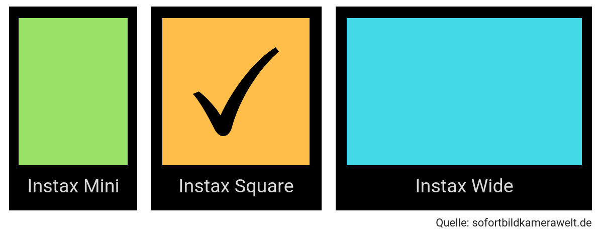 Instax Square Film Format