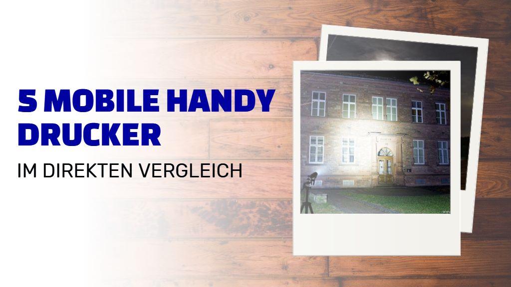 5 Handy Drucker im Vergleich